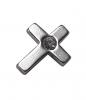 INKgrafiX - Dermal Anchor Microdermal Aufsatz KREUZ 5mm Stahl 316l