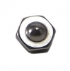INKgrafiX - Dermal Anchor Microdermal Aufsatz HEXAGON MUTTER - RÖMERSCHILD 5mm Titan
