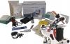 """""""LEDER""""-KOMPLETTSET IG-SL1 mit INKgrafiX® Spulenmaschine IG-27 Leather Handtasche, Geldbeutel etc."""