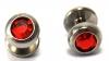 INKgrafiX - Skindiver ROT RED gewölbte Platte Titan