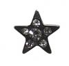 INKgrafiX - Dermal Anchor Microdermal Aufsatz STERN mit vielen Steinen 5mm Stahl 316l