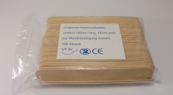 Unigloves Holzmundspatel - 100 Stück - Spatel - Tattoo Piercing - Arzt