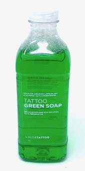 ALOE TATTOO - GREEN SOAP 1L - Grüne Seife - Tattoo