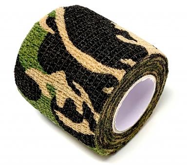 Grip Bandage INKgrafiX® - für besten Halt - Griffstück - PINK Military Black Grün Violett MILITARY (1Stück)