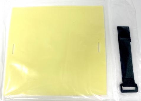 TATTOO XL Übungshaut für Arm mit Band - wie echt, schwere Qualität