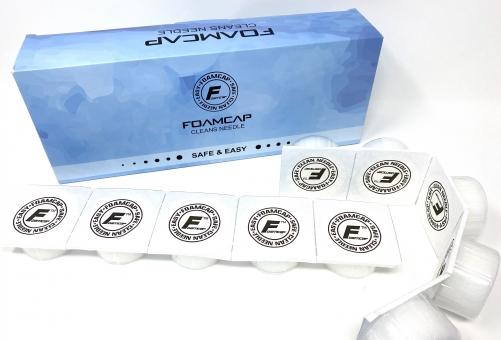 INKgrafiX® Foam Cap zum reinigen der Nadel während dem tätowieren - die Revolution!
