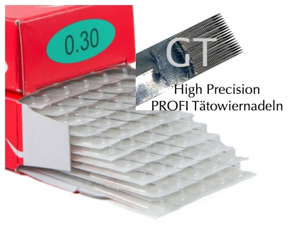 GT Precision - Profi Tattoo Nadeln - bei INKgrafiX®