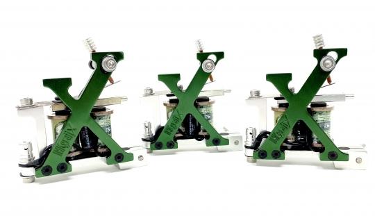 "EINFÜHRUNGSPREIS!INKgrafiX® EDEL ""X-Maschine"" IG-X1 Spulenmaschine - Alu CNC gefräst - NEU unser Maximimum"