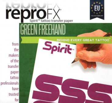 SPIRIT Green Matritzenpapier A4 Sheet Freihand