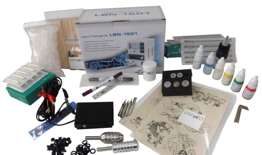 """LUXUS""-KOMPLETTSET IG-S5 INKgrafiX® mit ROTARY IG-HAMMER"