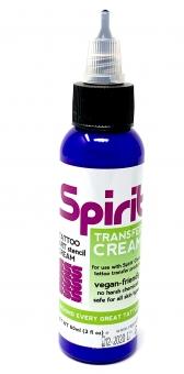 SPIRIT Transfer Cream 60ml Abzugsflüssigkeit TATTOO Stempel Matritze Vorlage ARTE